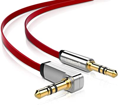 Gold Plated 3.5mm Jack Car Aux Auxiliary Cord Stereo Audio Cable For Phone Tab