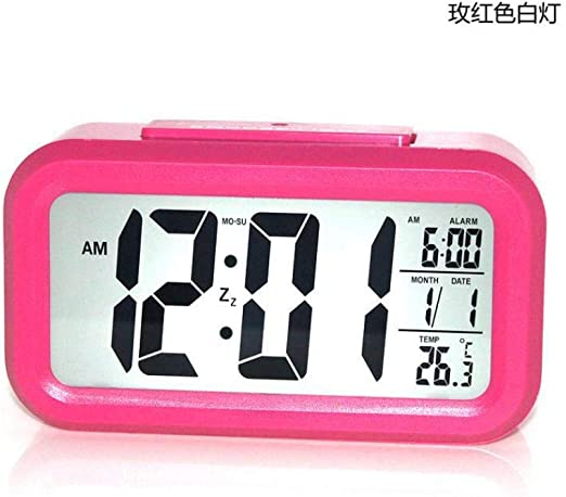 Mzbbn Despertadores Digitales Reloj Electrónico con Alarma ...