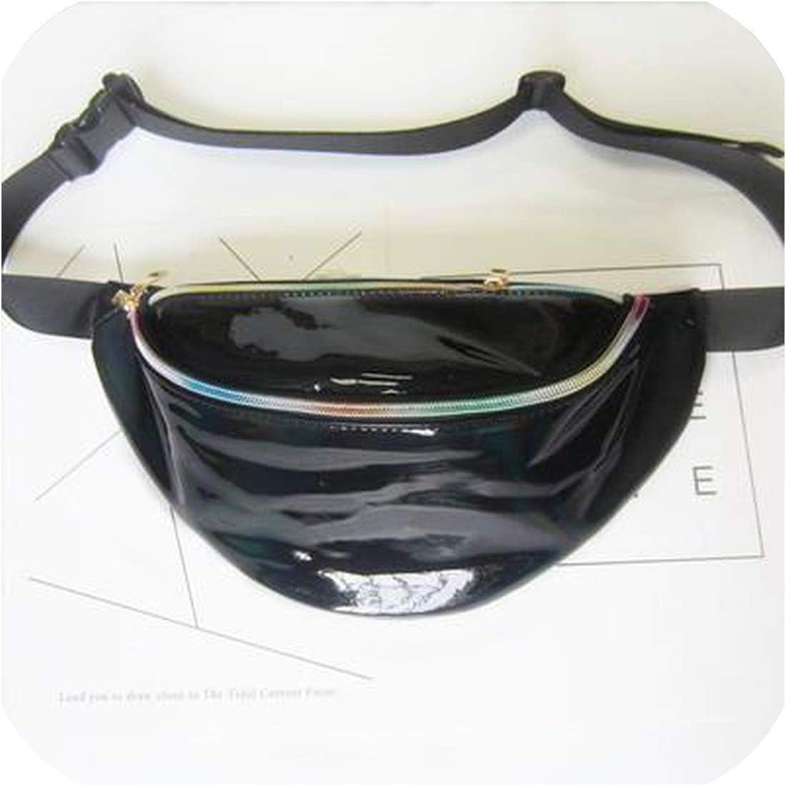 Fanny Pack transparent Waist Bag hologram bag Belt Bag Waist Pack Bolsa Feminina Hip Bag Belt Pouc,lan se