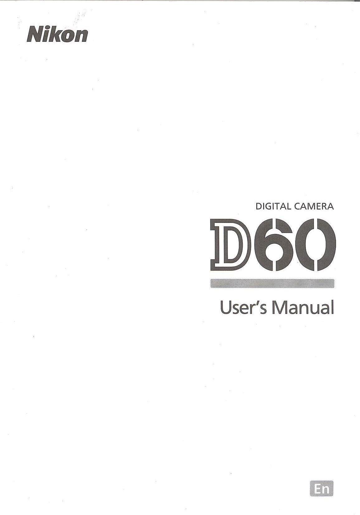 Nikon d60 guide.
