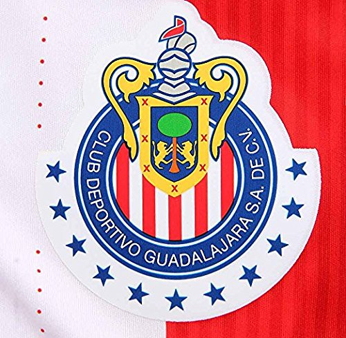 Puma O Maglia Da Calcio Casalinga Pinada # 7 Chivas Guadalajara 2016/17