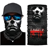 Dolloress Outdoor Face Mask Coolest Seamless Bandanas Headband Headwrap Neckwarmer Fishing Mask Sport Scarf for Fishing Hiking Running Motorcycling Riding Windproof Sun Protection