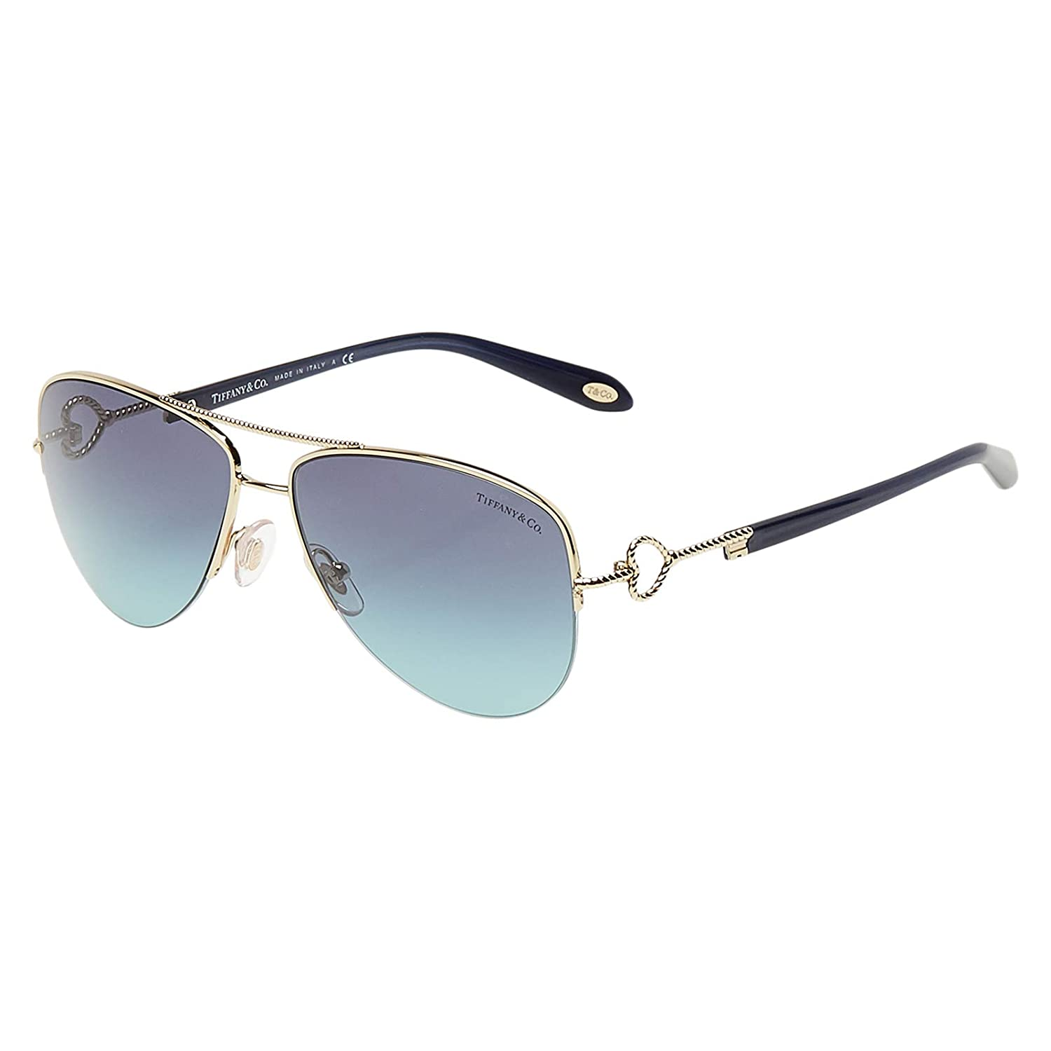 Tiffany & Co. TF3046 gafas de sol, Dorado (Pale Gold 60949S ...
