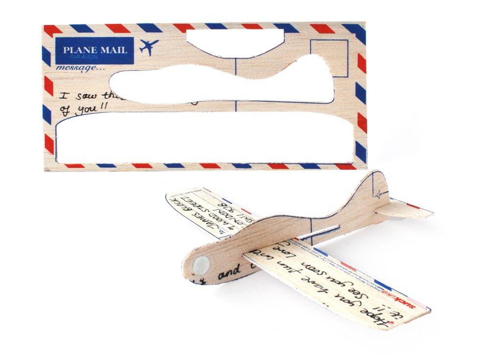 SUCK UK Cartolina Aereo Toy Zany SK PLANEMAIL1