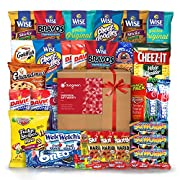 Amazon Lightning Deal 71% claimed: Snack Chips Gift Set Party Box Bundle Care Package 40 Count