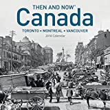 2018 Canada Then and Now Wall Calendar