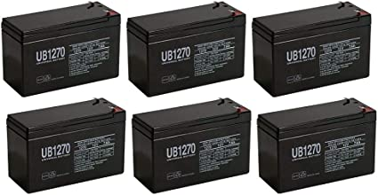 Liebert GXT2 3000RT120 UPS Replacement Battery Set 6 Pack