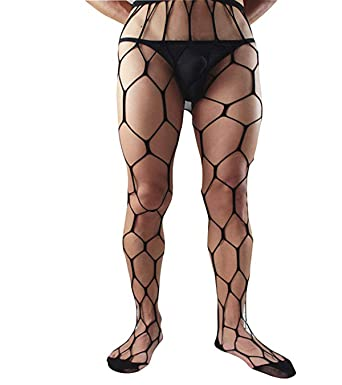 1c151153d7 HIMEALAVO Strumpf Strumpfhose große Netz Strumpf Socken für Herren:  Amazon.de: Drogerie & Körperpflege