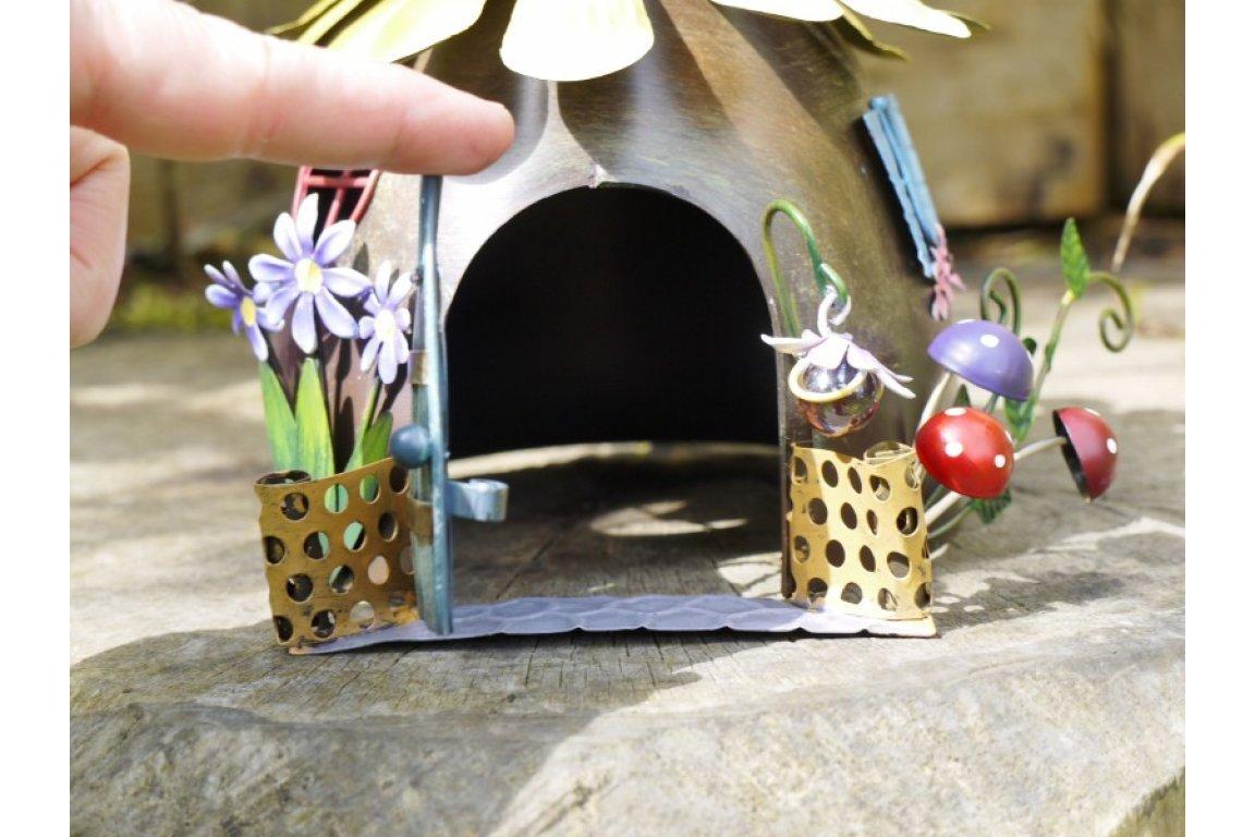 Fairy Door Brown /& Ginger The Secret Garden Fairy Ornaments Hand Painted Miniature Metal Garden Decorations