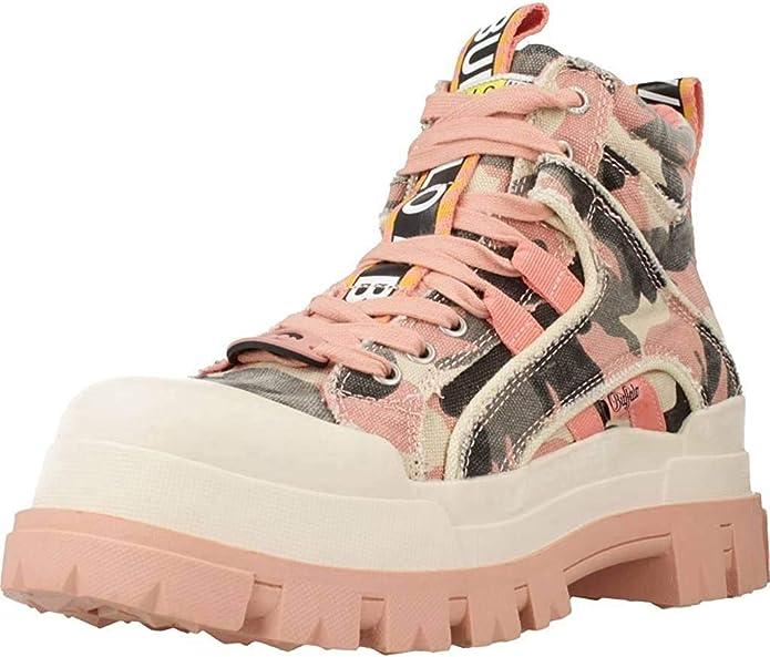 botas militares Buffalo rosas camo