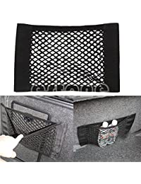 Purchase 1 Piece Car Back Rear Trunk Seat Elastic String Net Mesh Storage Bag Pocket Cage discount