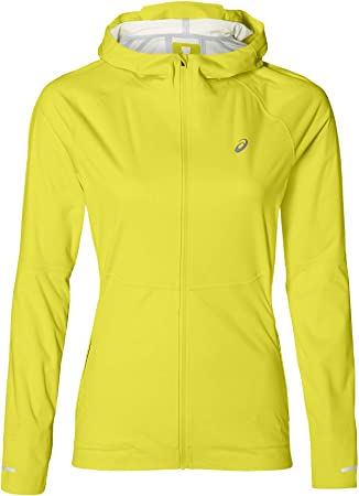 443ebf0f578 ASICS Accelerate Running Jacket Women yellow Size S 2019 sport jacket