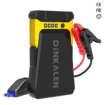 Amazon.com: DINKALEN D80 Arrancador portátil para coche ...