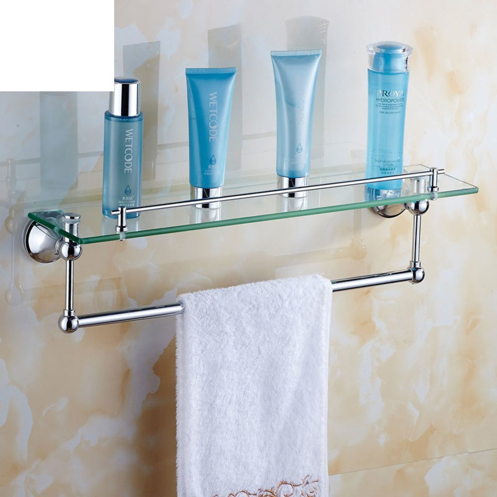 Stainless steel hollow chrome colored bathroom towel rack/towel rack ...