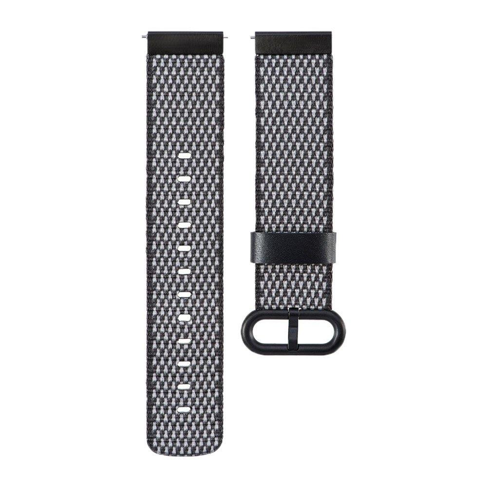 inverlee Garmin vívoactive 3 Watch Bband、ファッションナイロン編みウォッチバンド手首ストラップfor Garmin vívoactive 3 GPS Smartwatch ブラック ブラック B078LZ7ZDS