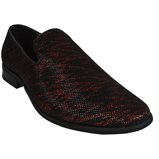 Men's Formal Tuxedo Business Casual Shoes Slip-On Loafers SED4011