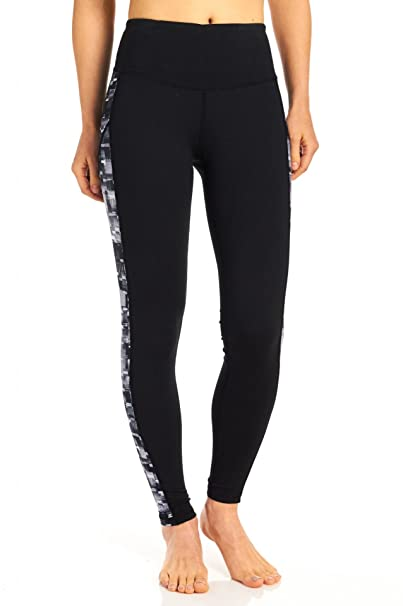 56f8cbaff0 Teez-Her Women s Smoothing Panel Active Legging at Amazon Women s Clothing  store