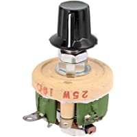 Sourcingmap–a16031800ux202625W 10Ohm pomo Alambre Herida de cerámica potenciómetro