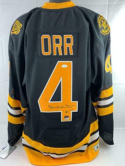 3a97103d2130cd Bobby Orr Signed Jersey - Adidas 1975 76 Throwback On Ice Game & GNR ...
