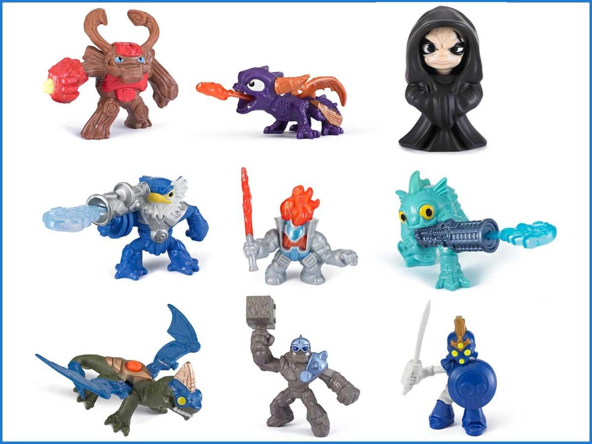 Amazon.com: Skylanders Giants Exclusive Figure Set of 9 Includes ...