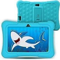 Dragon Touch Tablet para Niños con WiFi Bluetooth 7 Pulgadas 1024x600 Tablet Infantil de Android 8.1 Quad Core 1GB 16GB Doble Cámara Kid-Proof Funda Tablet Niños Educativo Y88X Plus Azul