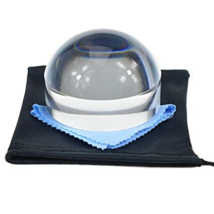 ce202a8969 Amazon.com   YOCTOSUN 3 Inch Dome Magnifier 5X Acrylic Paperweight ...