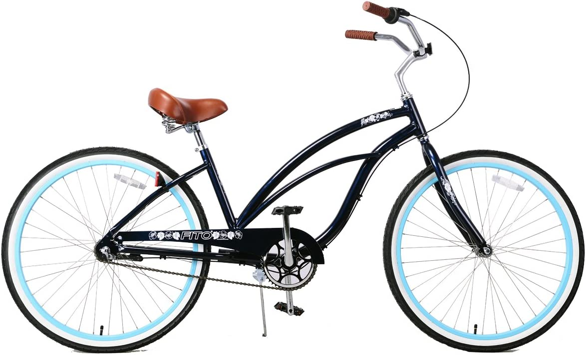 Fito Women s Marina 2.0 Aluminum Alloy 3 Speed Beach Cruiser Bike