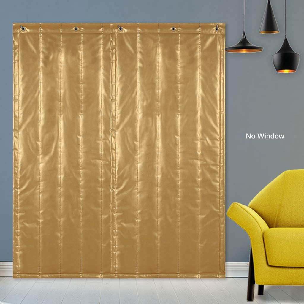 Even Door Curtain Multifunction Winter Thicken Partition Curtain,Shop Entrance Windproof Curtain Commercial,Keep Warm Insulation Windproof
