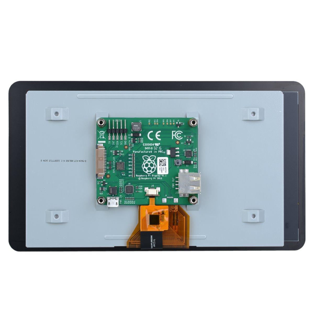 7'' 800 x 480 Touch Screen Display for Raspberry Pi 2B / B+/ A+ by OLSUS (Image #2)
