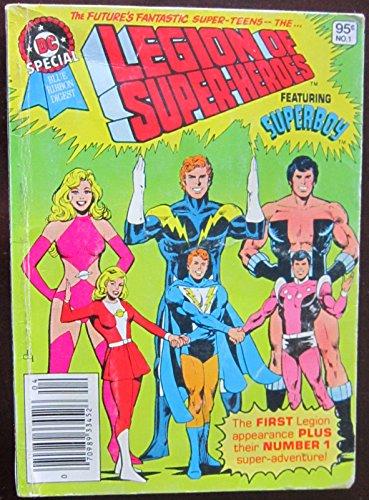 Legion Of Super-heroes - Dc Special Blue Ribbon Digest, Vol. 1, No. 1, Mar/Apr 1980