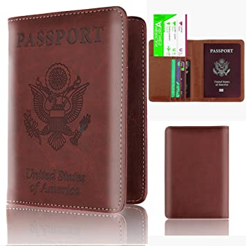 Fundas de pasaporte Carteras para pasaporte Tarjeteros y fundas Accesorios de viaje Organizadores para maletas Carteras