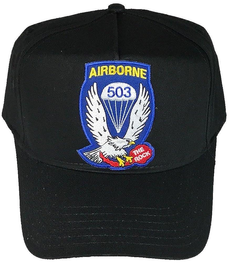 503RD AIRBORNE INFANTRY REGIMENT HAT BLACK Veteran Owned Business