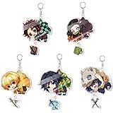 Demon Slayer:Kimetsu no Yaiba Acrylic Keychain Keyring Cosplay Anime Accesso#jkf