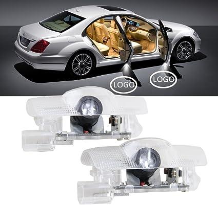 nslumo coche proyector de logo led puerta Ghost Shadow luces 2-PC ...