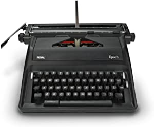 Manual Typewriter black