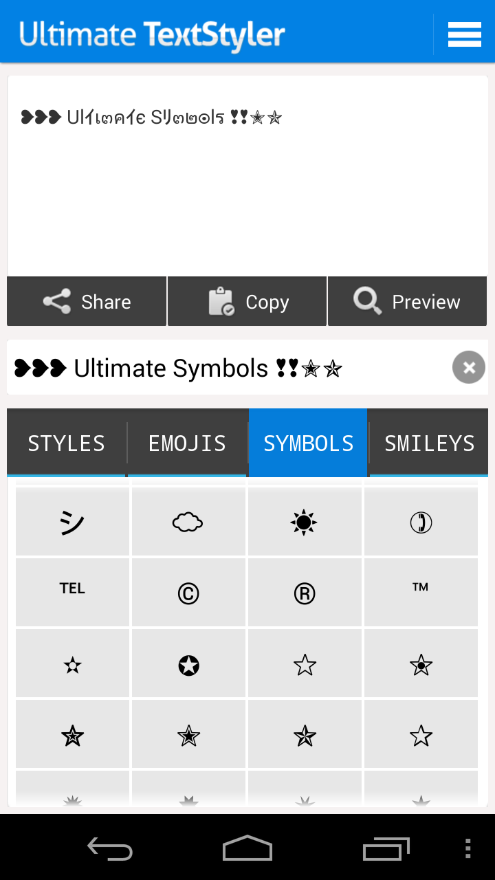 Amazon ultimate text styler fonts symbols smileys love amazon ultimate text styler fonts symbols smileys love stickers emoticons for facebook whatsapp twitter and more appstore for android buycottarizona
