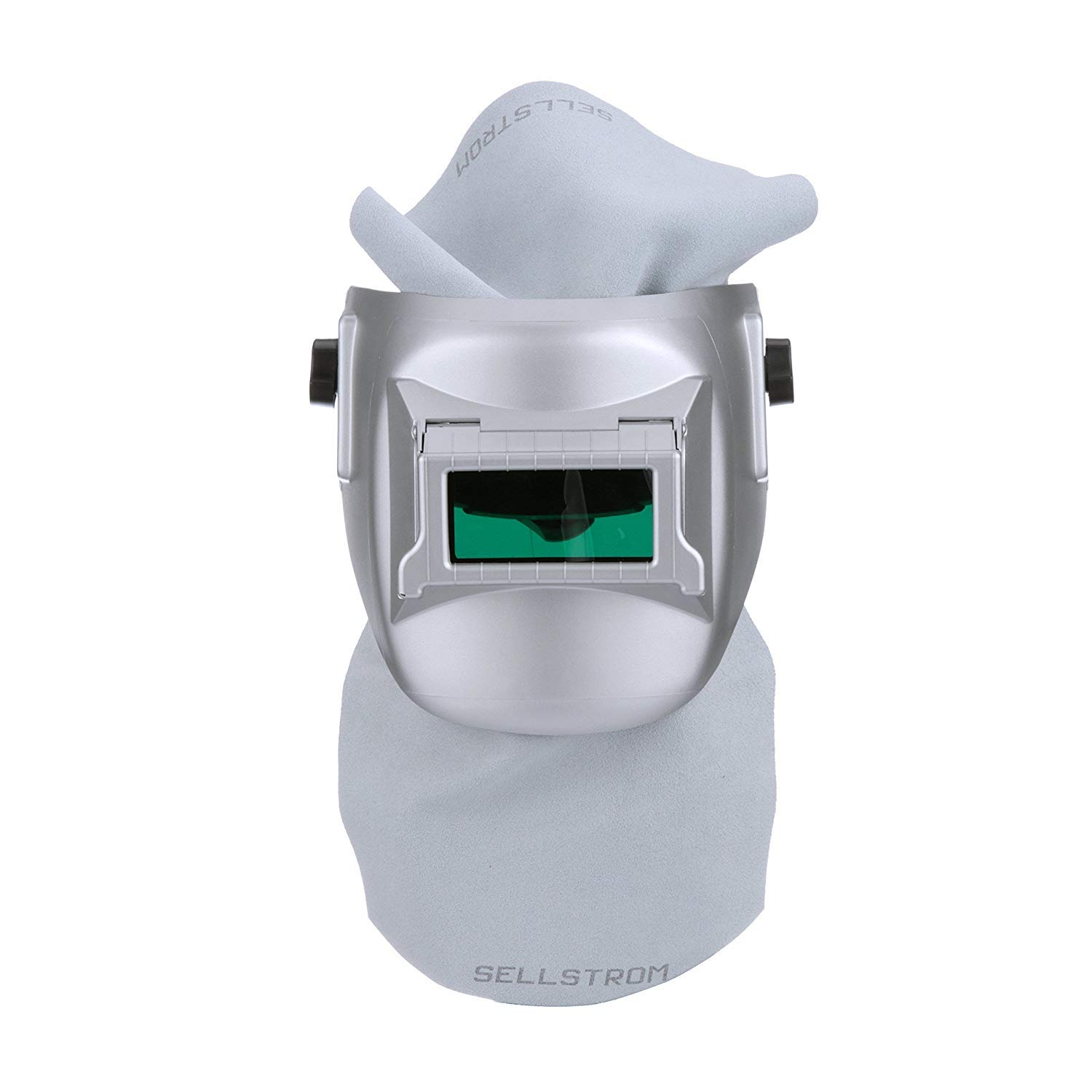 Sellstrom S29411-08E Confined Space Welding Helmet, Silver Coated, Made in USA