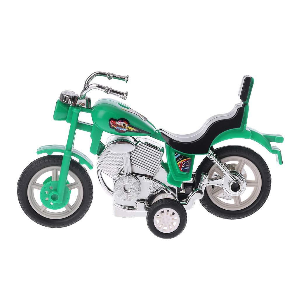 Exing Tirez Les Jouets de Moto Jouets Moto /à inertie Mod/èle de Moto Jouets /éducatifs pour Enfants Livraison al/éatoire