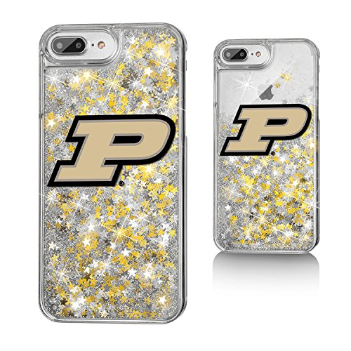 (Keyscaper KGLG7X-0PUR-INSGN1 Purdue Boilermakers iPhone 8 Plus / 7 Plus / 6 Plus Glitter Case with Insignia Design)