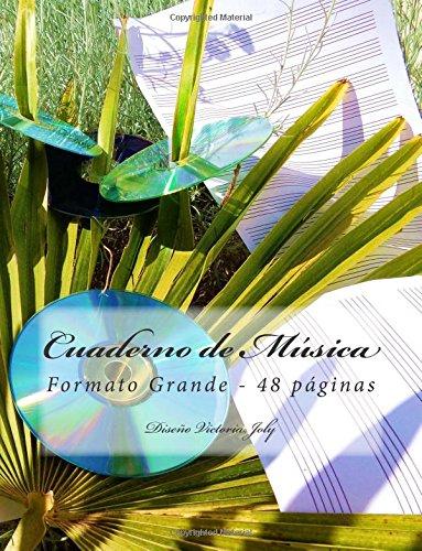 Descargar Libro Cuaderno De Musica Formato Grande 48 Paginas: Diseno Original Tipo 8 Victoria Joly