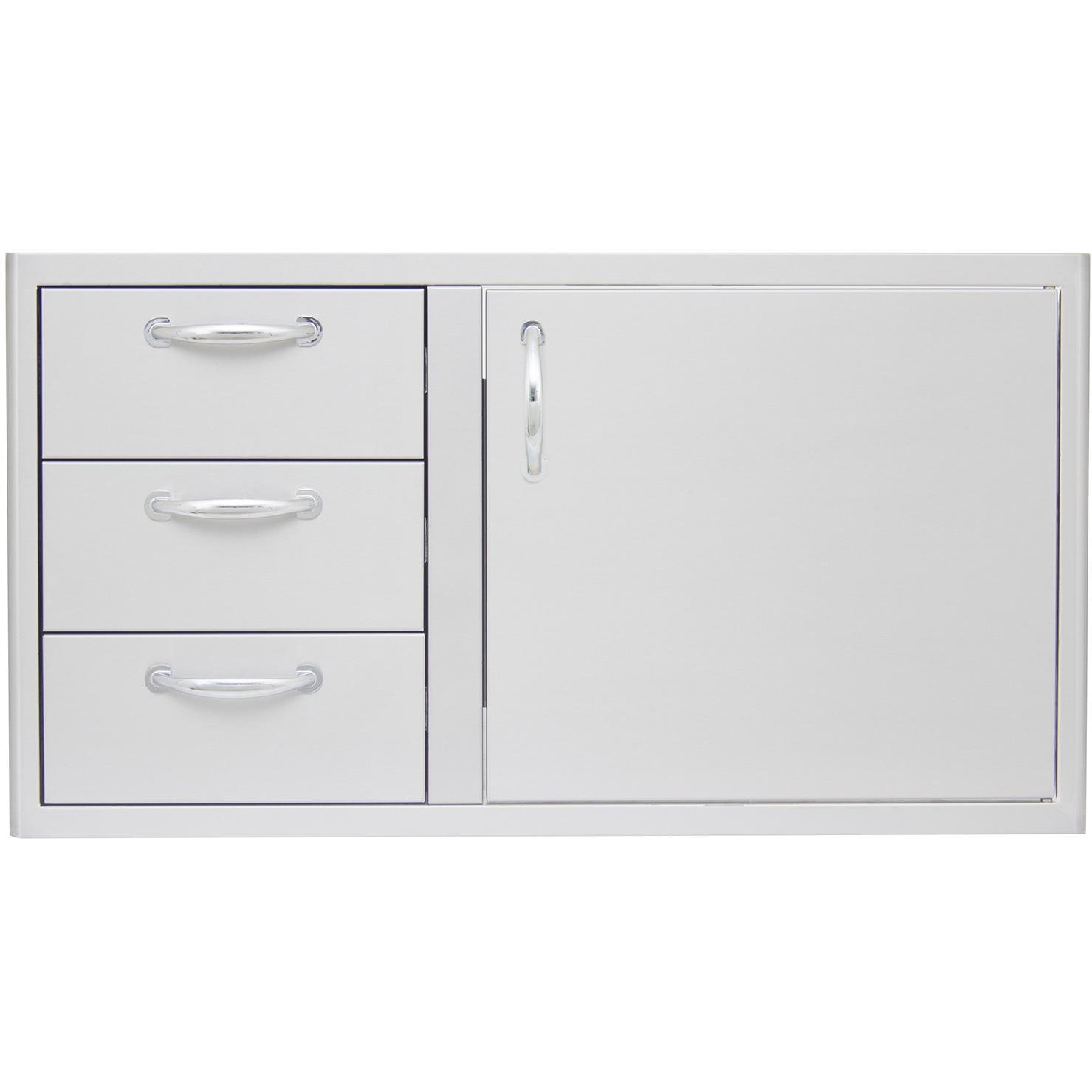 Blaze Outdoor Products 39-inch Access Door and Triple Drawer Combo