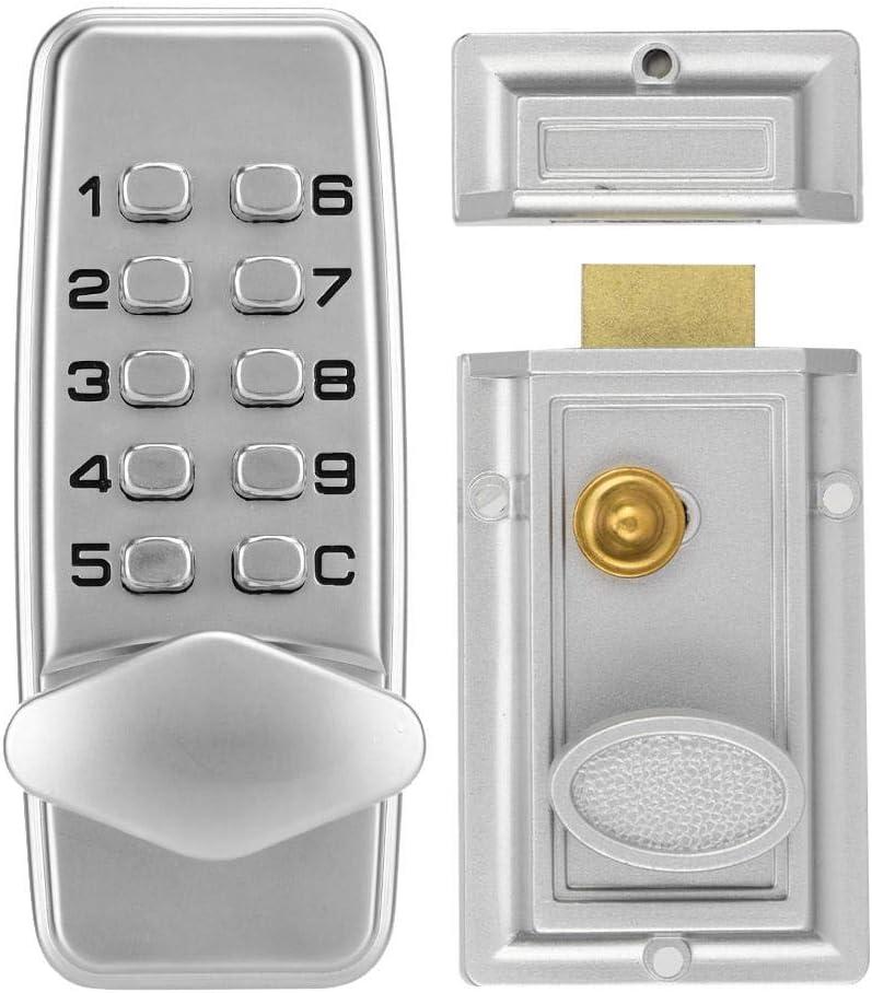 Sutinna Digit Code Lock - Cerradura con código mecánico para puertas interiores y exteriores