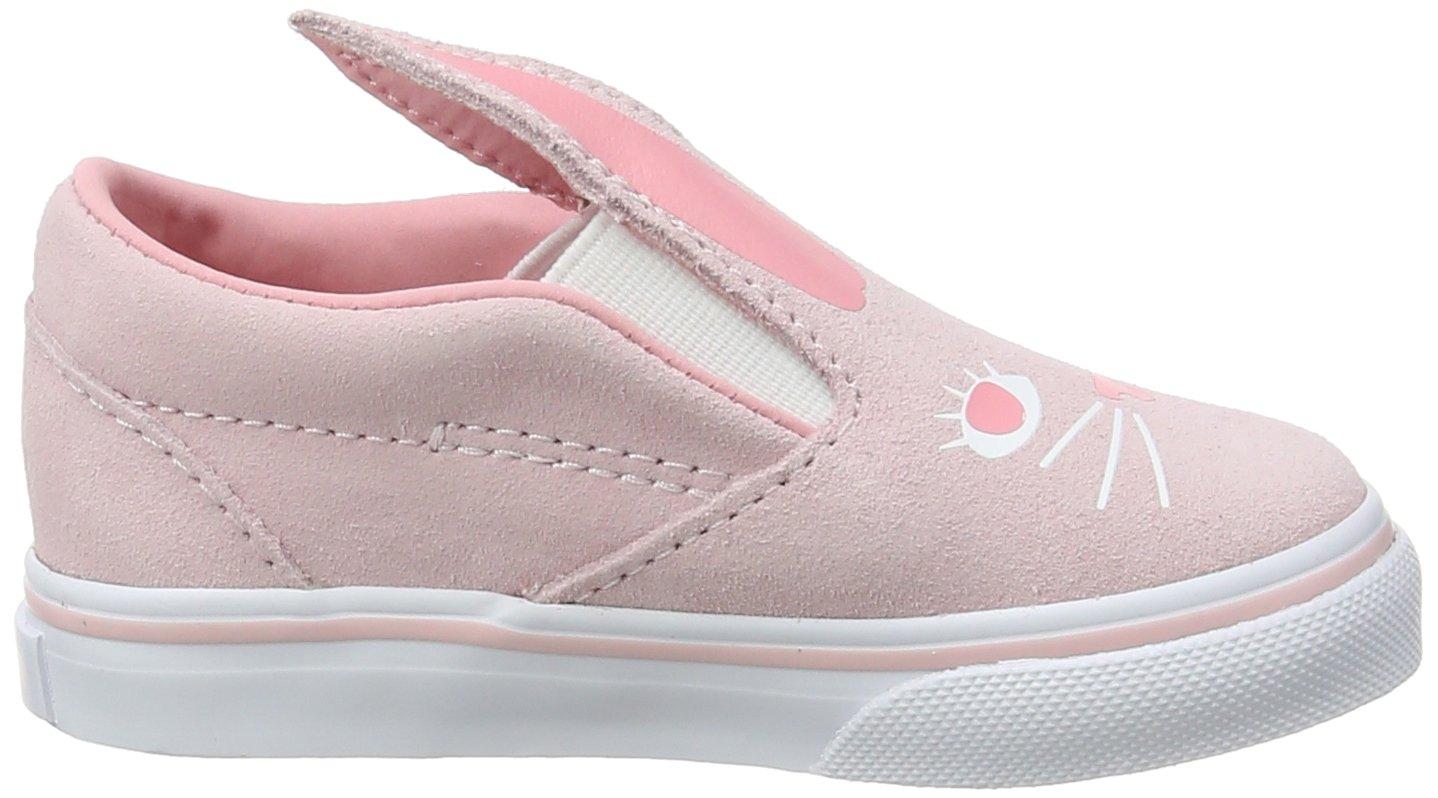 Vans Toddler Slip-on Bunny Shoes B071XF1V23 9.5 M US Toddler|Chalk Pink/True White