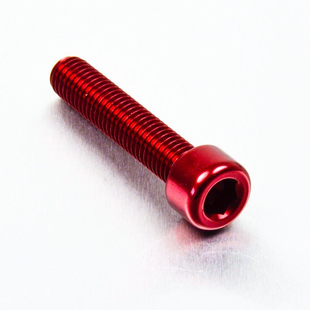Aluminium Allen Bolt M8 x (1.25mm) x 40mm Orange Pro-Bolt Generic LPB840O