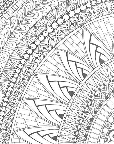Zendoodle Coloring Creative Sensations Hypnotic Patterns
