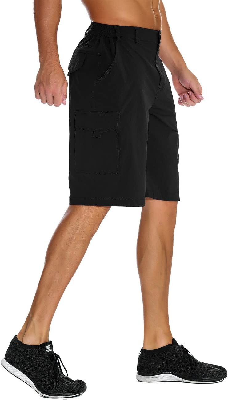 unitop Mens Lightweight Breathable Soft Quick Dry Hiking Shorts