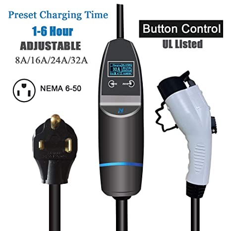 Amazon.com: K.H.O.N.S. KHONS EVSE Portable EV Charger 2.0 ...