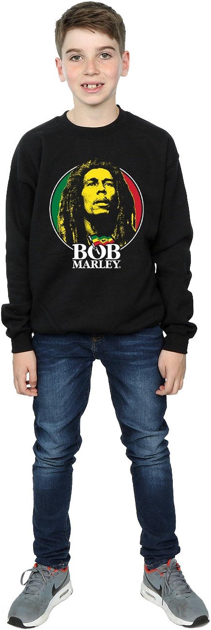 Bob Marley Boys Logo Badge T-Shirt