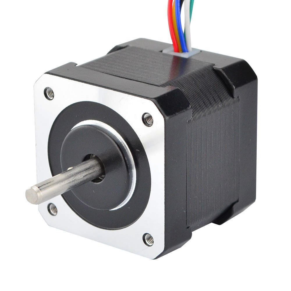 Unipolar Nema 17 Stepper 0.4A 37oz.in/26Ncm 12V Stepper Motor DIY CNC