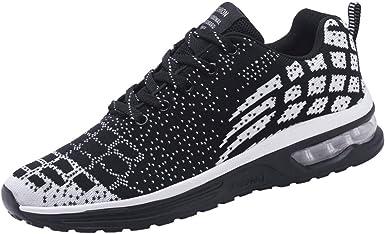 Zapatillas de Deporte Respirable para Correr Deportes Zapatos Running Hombre: Amazon.es: Ropa y accesorios